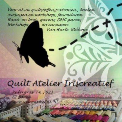 Quilt Atelier Iriscreatief